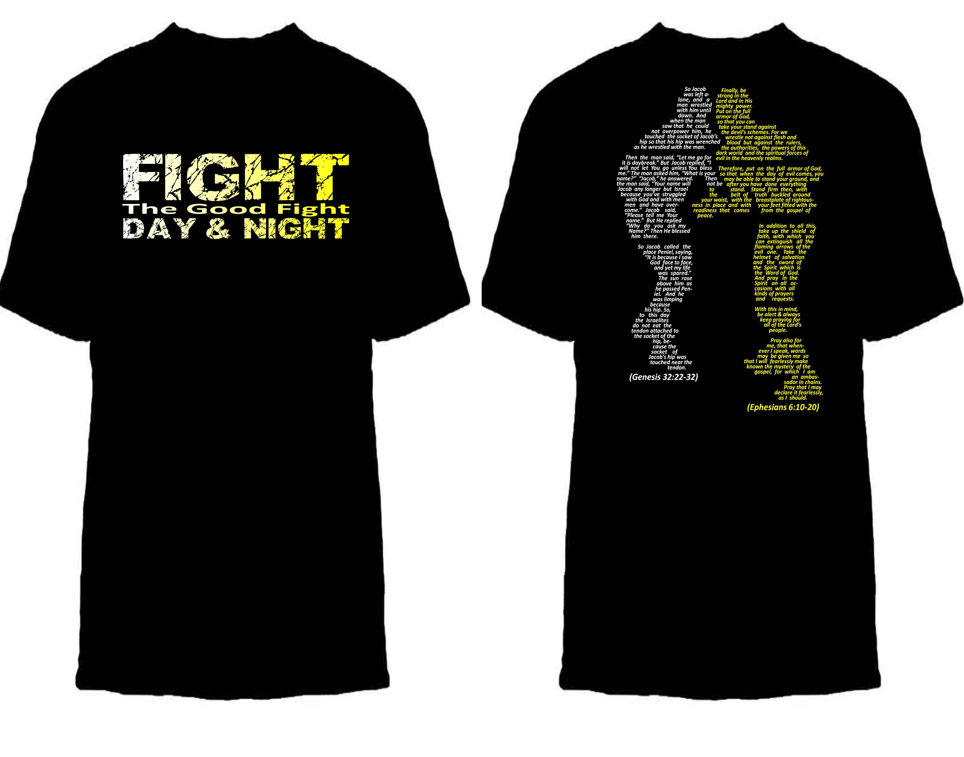 T shirt template fight the good fight tools4trenches for Tenth avenue north t shirts