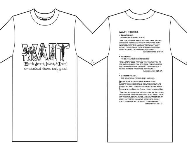 WAIT t shirt